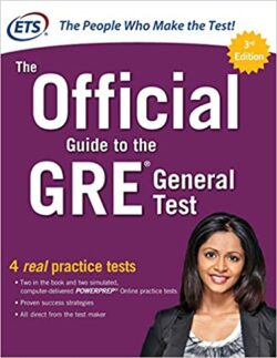 PORTADA DEL LIBRO THE OFFICIAL GUIDE TO THE GRE GENERAL TEST - ISBN 9781259862410