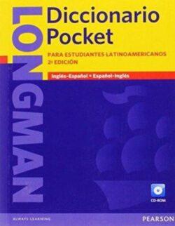 PORTADA DEL DICCIONARIO LONGMAN POCKET PARA ESTUDIANTES LATINOAMERICANOS ISBN 9781408232347