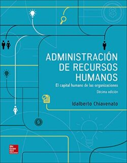 PORTADA DEL LIBRO ADMINISTRACIÓN DE RECURSOS HUMANOS EL CAPITAL HUMANO DE LAS ORGANIZACIONES - ISBN 9781456256623