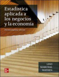 PORTADA DEL LIBRO ESTADÍSTICA APLICADO A LOS NEGOCIOS Y LA ECONOMÍA + CONNECT - ISBN 9781456272159
