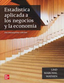 PORTADA DEL LIBRO ESTADÍSTICA APLICADA A LOS NEGOCIOS Y LA ECONOMÍA - ISBN 9781456277925