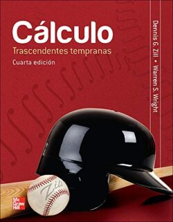 PORTADA DEL LIBRO CÁLCULO TRASCENDENTES TEMPRANAS - ISBN 9786071505026