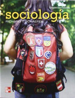 PORTADA DEL LIBRO SOCIOLOGÍA - ISBN 9786071506610