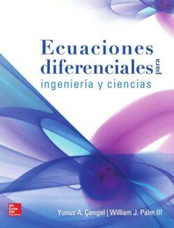 PORTADA DEL LIBRO ECUACIONES DIFERENCIALES PARA INGENIERÍA Y CIENCIAS - ISBN 9786071509895