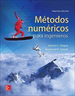 PORTADA DEL LIBRO MÉTODOS NUMÉRICOS PARA INGENIEROS - ISBN 9786071512949