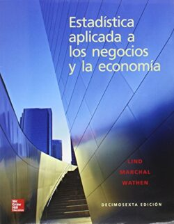 Portada del libro Estadística aplicada a los negocios y la economía- ISBN 9786071513038