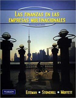 Portada de los libros de las finanzas en las empresas multinacionales - ISBN 9786073202527
