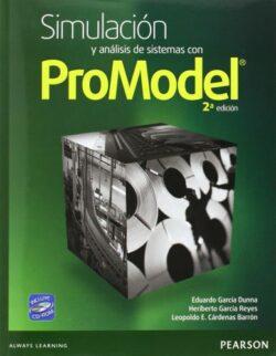 Portada del libro Simulaciòn y Análisis de Sistemas con Promodel-ISBN 9786073215114