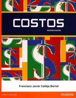 Portada del libro de Costos - ISBN 9786073218122