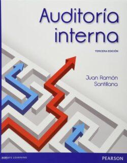Portada del libro de Auditoría interna -ISBN 9786073220460