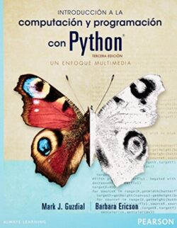 PORTADA DEL LIBRO INTRODUCCIÓN A LA PROGRAMACIÓN CON PYTHON - UN ENFOQUE MULTIMEDIA ISBN 9786073220491