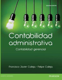 Portada del libro de contabilidad administrativa contabilidad gerencial - ISBN 9786073227537