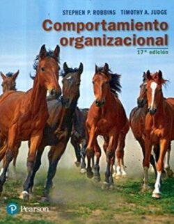 PORTADA DEL LIBRO COMPORTAMIENTO ORGANIZACIONAL ISBN 9786073241014