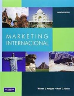 Portada del libro Marketing internacional - ISBN 9786074423396