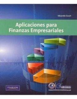 Portadas del libro de aplicaciones para finanzas empresariales - ISBN 9786074423587