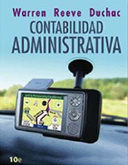 PORTADA DEL LIBRO CONTABILIDAD ADMINISTRATIVA ISBN 9786074812688
