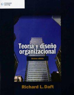 PORTADA DEL LIBRO TEORÍA Y DISEÑO ORGANIZACIONAL ISBN 9786074814705
