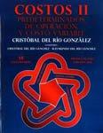 PORTADA DEL LIBRO COSTOS II ISBN 9786074814774