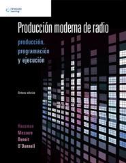Portada del libro Producciòn moderna de radio - ISBN 9786074815085
