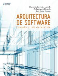 Portada del libro Arqutectura de Software-ISBN 9786075224565
