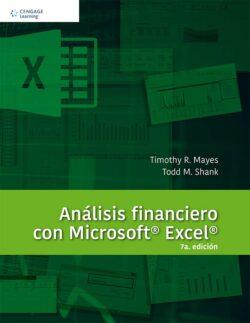 PORTADA DEL LIBRO ANÁLISIS FINANCIERO CON MICROSOFT EXCEL ISBN 9786075224589