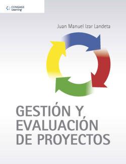 Portada del libro Gestión y evaluación de proyectos ISBN 9786075224596