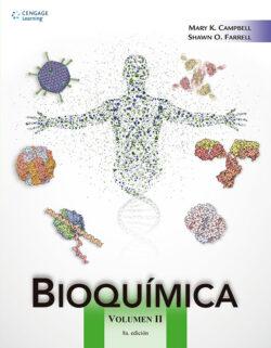 PORTADA DEL LIBRO BIOQUÍMICA VOLUMEN 2 ISBN 9786075224916