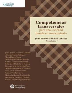 Portada del libro Competencias transversales para una sociedad basada en el conocimiento ISBN 9786075228587