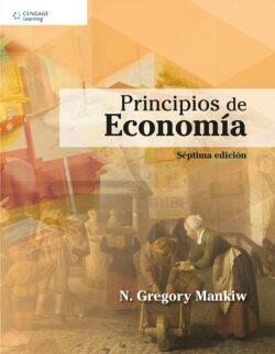 Portada del libro de Principios de economía - ISBN 9786075262154
