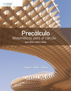 Portada del libro Precálculo ISBN 9786075262888