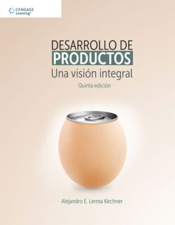 Portada del libro Desarrollo de productos. Una visiòn integral - ISBN 9786075262987