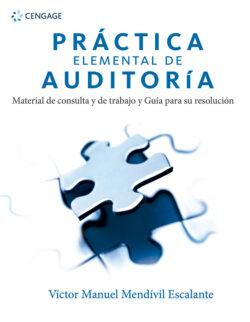 Portada del libro de Práctica elemental de auditoría material de consulta y de trabajo y guía para su resolución - ISBN 9786075266244