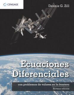 Portada del libro Ecuaciones diferenciales con problemas de valores en la frontera ISBN 9786075266305