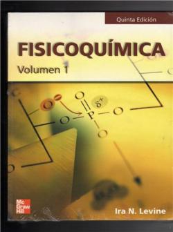 PORTADA DEL LIBRO FISICOQUÍMICA VOLUMEN 1 - ISBN 9788448137861