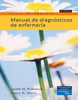 PORTADA DEL MANUAL DE DIAGNÓSTICOS DE ENFERMERÍA ISBN 9788483224175