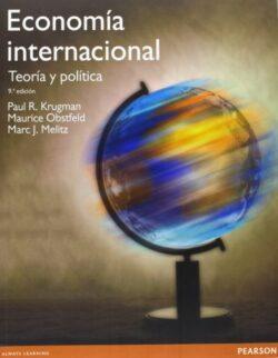 PORTADA DEL LIBRO ECONOMÍA INTERNACIONAL: TEORÍA Y POLÍTICA ISBN 9788490354025