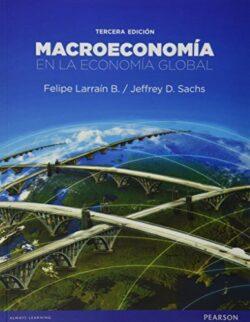 PORTADA DEL LIBRO MACROECONOMÍA EN LA ECONOMÍA GLOBAL ISBN 9789563435078