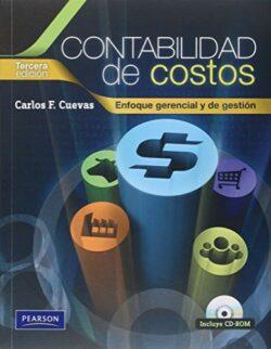 Portada del libro de Contabilidad de costos enfoque gerencial y de gestión - ISBN 9789586991278