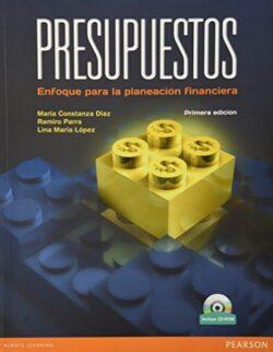 Portada del libro de presupuestos un enfoque para la planeación financiera - ISBN 9789586992206