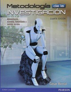 PORTADA DEL LIBRO METODOLOGÍA DE LA INVESTIGACIÓN ISBN 9789586993098