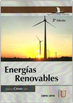 PORTADA DEL LIBRO ENERGÍAS RENOVABLES - ISBN 9789587622065