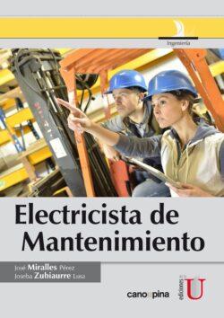 PORTADA DEL LIBRO ELECTRICISTA DE MANTENIMIENTO - ISBN 9789587622669