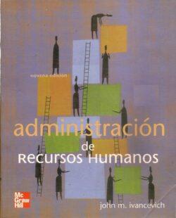 PORTADA DEL LIBRO ADMINISTRACIÓN DE RECURSOS HUMANOS ISBN 9789701045978