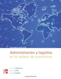 PORTADA DEL LIBRO ADMINISTRACIÓN Y LOGÍSTICA EN LA CADENA DE SUMINISTROS ISBN 9789701061329