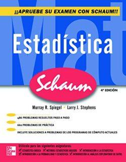 PORTADA DEL LIBRO ESTADÍSTICA DE SCHAUM ISBN 9789701068878