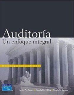 Portada del libro de Auditoría un enfoque integral- ISBN 9789702607397