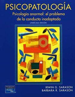 Portada del libro del libro de Psicopatología - ISBN 9789702608417