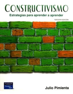 PORTADA DEL LIBRO CONSTRUCTIVISMO: ESTRATEGIAS PARA APRENDER A APRENDER ISBN 9789702610410