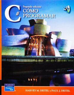 Portada del libro Còmo Programar en C#-ISBN 9789702610564