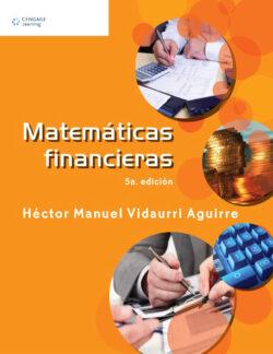 Portada del libro Matemáticas financieras ISBN 9786074817157